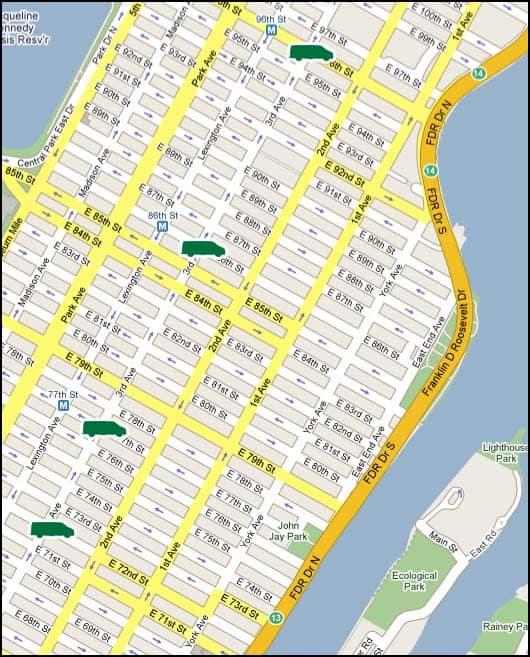 randalls island map